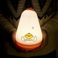 병아리 오뚝이 LED 스탠드 (USB전원/충전식/수유등)_(1316989)