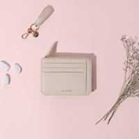 [살랑]Dijon M201 Flap mini Card Wallet cream beige