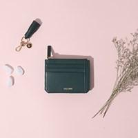 [살랑]Dijon M201 Flap mini Card Wallet olive green