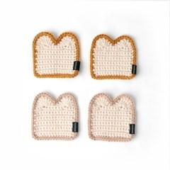 식빵컵받침 - 손뜨개 KIT