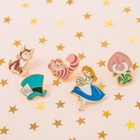 [Disney]Alice_모자장수 모자 뱃지