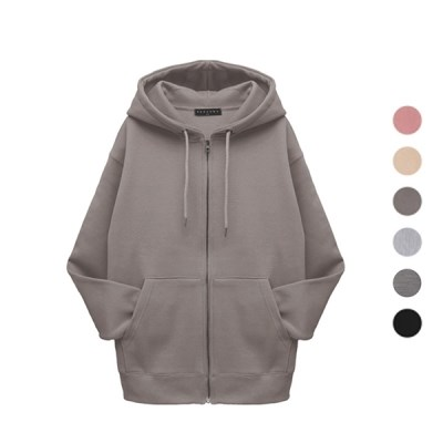 PERSONA BASIC WARM HOOD ZIP-UP Z201 (man)
