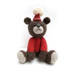 [손뜨개 DIY]손뜨개인형-빨간모자아기곰