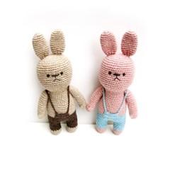 [손뜨개 DIY]손뜨개인형-토끼친구2