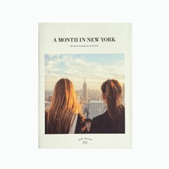 A MONTH IN NEW YORK 다이어리 ver.6