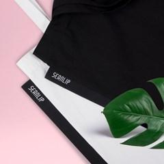 블랙 라벨 에코백 / black label