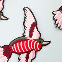 패치 11. 붉은 줄무늬 새 1p