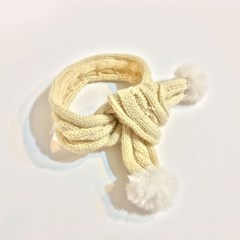 Bubble scarf - ivory