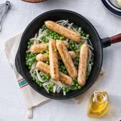 [파워닭] 파슬리맛 닭가슴살 수제 소시지