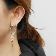 [925silver] mini hoop earring(12,15,18,23mm)