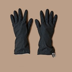 THE RUBBER GLOVES (BLACK)
