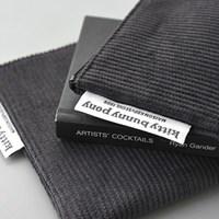 corduroy gray pouch