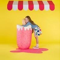 [라쏨] 핑크 아이스크림 빈백 소파