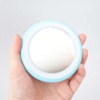 휴대용 LED조명 원형 손거울