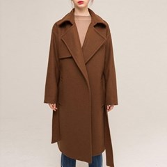 TRENCH JACK WOOL COAT (CAMEL)