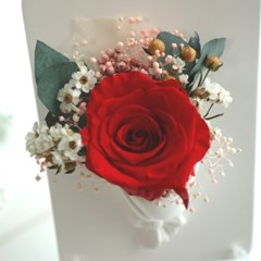 꽃다발 액자 방향제