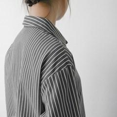 윈터 스트라이프 베이직 셔츠 (2-COLORS)