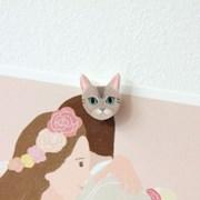 고양이 얼굴 마그넷
