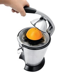 러셀홉스 전자동 오렌지 레몬착즙기 RH-F616B 실버