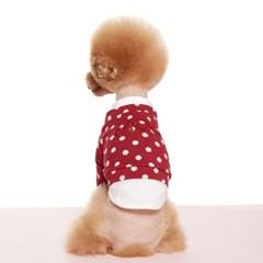 RED DOT LAYERED SWEAT-SHIRTS