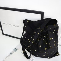 [haku.haru] gold drop ecobag