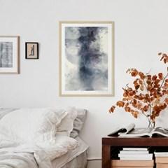 이태리 원목액자 인테리어 포스터 :  Abstract no.02 - 3색(대형, 중