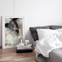 이태리 원목액자 인테리어 포스터 :  Abstract no.01 - 3색(대형, 중