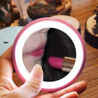 도넛 LED 조명 화장 거울