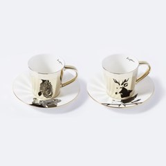 [LUYCHO] 루이초 Tall Gift Set - Chapman's Zebra+Sika Deer