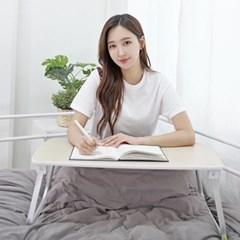 내츄럴 리빙 노트북 독서 베드트레이 접이식테이블H70_(523534)