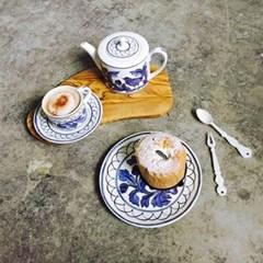 헤리티지 블루버드 커피세트