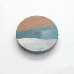 wood work_ opaque water
