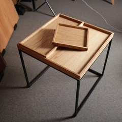 [퍼니매스] Oak Tray Sofa Table (오크 트레이 소파테이블)