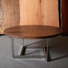 [퍼니매스] Walnut Crossover Sofa Table (월넛 크로스오버 테이블)