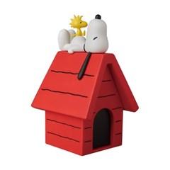 스누피 VCD SNOOPY with WOODSTOCK and dog house (1701006)