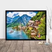 1000조각 직소퍼즐▶ 아름다운 할슈타트 마을의 풍경 (PK1000-3118)