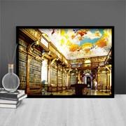 1000조각 직소퍼즐▶ 럭셔리한 멜크 수도원의 도서관 (PK1000-3108)