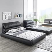 저상형 패밀리 침대 2820 블랙 Q+SS 침대프레임