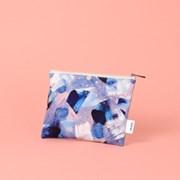 Winter Blossom Pattern Pouch