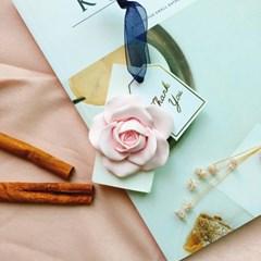 핑크 장미 석고타블렛