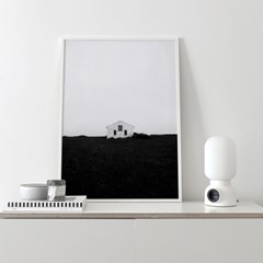 [Coco Lapine Design] Lonely House Poster (50x70 포스터)