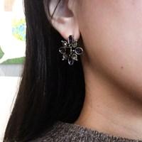 [블레싱] bold flower earring