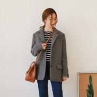 Wool 3-button jacket