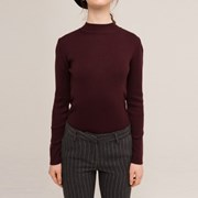 MIDDLE TURTLE SWEATER (WINE)