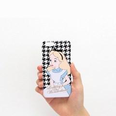 Disney lettering Case Alice houndcheck