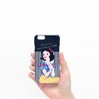 Disney lettering Case Navy snow white