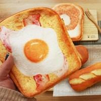 이런 식빵 토스트 파우치 필통