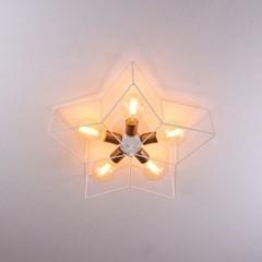 boaz 별5등직부 LED 방등 거실등 인테리어 조명