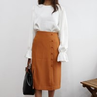 Volume sleeves blouse