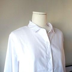 심플 화이트셔츠 (잔구김 적은 소재)